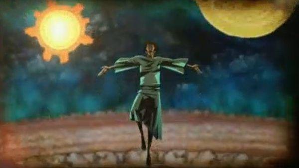 Giordano Bruno ascende a seu Cosmos infinito após ser executado (Crédito: Reprodução)