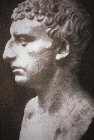 Suposto busto do historiador judeu Flávio Josefo: nariz, nariz e mais nariz