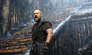 Noé versão Russell Crowe: macho até debaixo d´água. (Crédito: Divulgação)