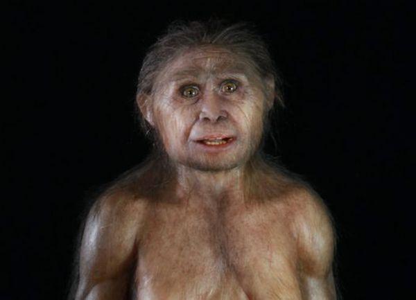 """Reconstrução artística do """"Homo floresiensis"""", apelidado de """"hobbit"""". (Crédito: Divulgação)"""