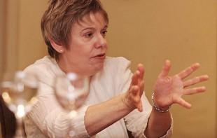 A escritora britânica Karen Armstrong (Crédito: Patricia Santos/Folhapress)