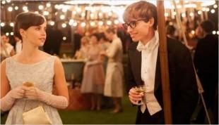Jane (Felicity Jones) e Stephen (Eddie Redmayne): xaveco científico fofo (Crédito: Divulgação)