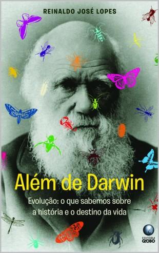 """Capa do meu primeiro livro, """"Além de Darwin"""", agora quase na faixa na Amazon (Crédito: Reprodução)"""